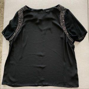 Dorothy Perkins Black Dress Top